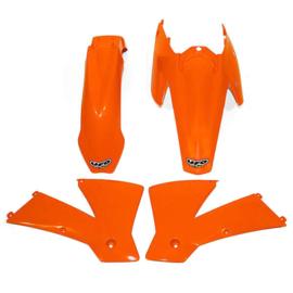 UFO plastic kit voor de SX 125/200/250/525 2004 & SX 450/525 Racing 2004