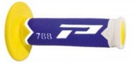 Pro Grip 788 handvaten Tri-Compound wit / blauw / geel