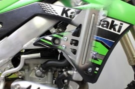 Works Connection Radiator Braces voor de Kawasaki KX 450F 2012-2015