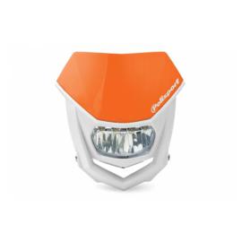Polisport koplamp Halo Led KTM oranje/wit ECE goedgekeurd