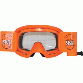 RNR crossbril WVS Neon Oranje met roll off ( 48mm )