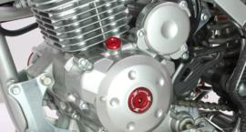 Zeta blok plug set rood voor de Honda CRF 150R 2007-2017 & CRF 250R 2010-2017 & CRF 450R 2002-2016 & CRF 450X 2005-2016