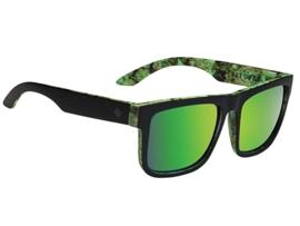 SPY zonnebril Discord Kush Walls zwart/groen - grijs met groene lens