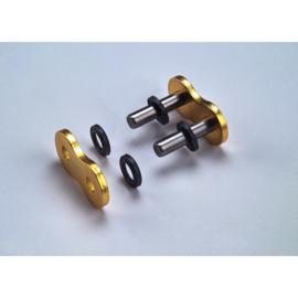 Klink kettingschakel voor Regina Z-ring goud 520 ketting Quad