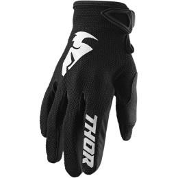 Thor MX handschoenen Sector Zwart