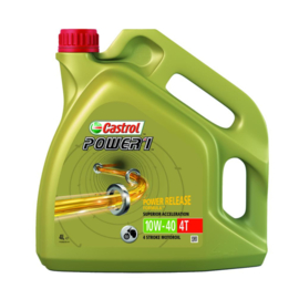 Castrol motorolie Power 1 Racing 4T 10W-40 4 liter