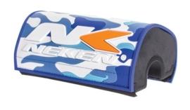 Neken stuurbeschermer oversized (28.6mm) camo blauw