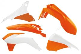 Rtech plastic kit OEM ( kleur 2015 ) KTM EXC 125/200/250/300/450/500 2014-2016 EXC-F 250/350/450 2014-2016