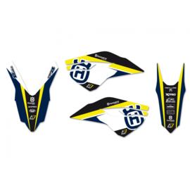 Blackbird Dream 4 sticker set Husqvarna TC/FC 125/250/350/450 2014-2015 & TE/FE 250/300/350/450/501 2014-2016