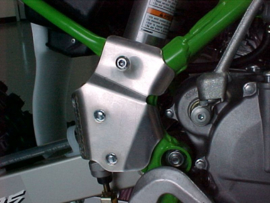 Works Connection frame beschermers voor de Suzuki RM 100 2003