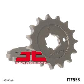 JT voortandwiel staal ( voor 428 ketting ) Kawasaki KX 60 1983-2002 & KX 80 1979-2000 & KX 85 2001-2018 & KX 100 1987-2018 & Suzuki RM 60/100 2003 & RM 65 2003-2005