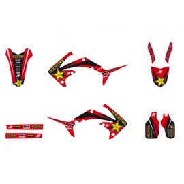 Blackbird Rockstar Energy sticker set Honda CRF 250R 2010-2013 & CRF 450R 2009-2012