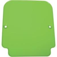 UFO voornummerplaat groen voor de KX 125/250/500 1987-1988