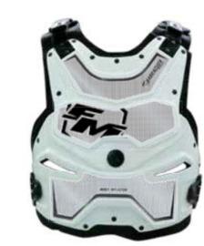 FM Barracuda bodyprotector Wit