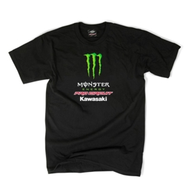 Pro Circuit t-shirt Team Monster zwart