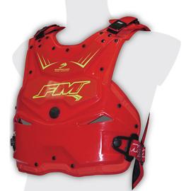FM Barracuda bodyprotector rood