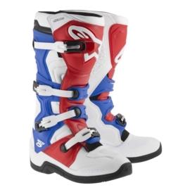 Alpinestars laarzen Tech 5 wit/rood/blauw