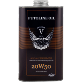 Putoline Genuine V-Twin 20W50 1 liter