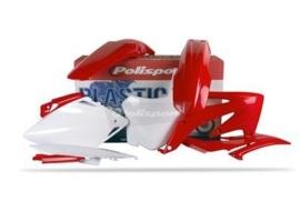 Polisport plastic kit voor de CRF 450R 08 kleur OEM