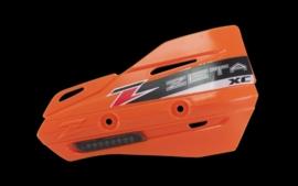 Zeta handkappen XC met knipperlicht smoke lens ( zonder montageset )