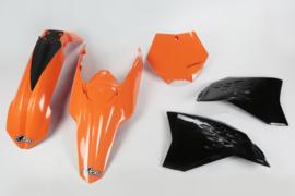 UFO plastic kit voor de SX 125/250 2007-2010 & SX 144 2007-2008 & SX 150 2009-2010 & SX-F 250/450 2007-2010