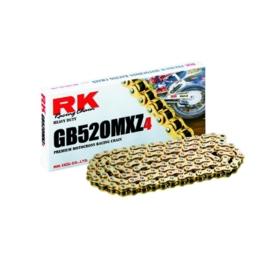 RK ketting GB 520 MXZ4 116L goud