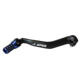 Apico Race schakelpook zwart/blauw voor de Yamaha YZ 125/250 2005-2021