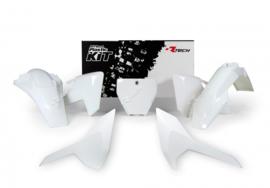 Rtech Plastic kit Wit ( origineel 2017 ) voor de Husqvarna TC 125/250 2016-2018 & FC 250/350/450 2016-2018