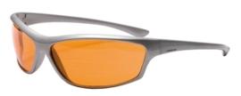 Jopa zonnebril Stallion zilver-oranje