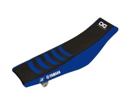 Blackbird Double Grip 3 zwart/blauw zadelovertrek voor de Yamaha