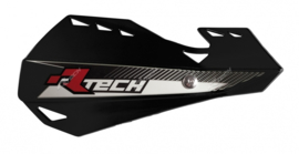 Rtech handkappen Dual + montageset zwart type Motocross & Enduro