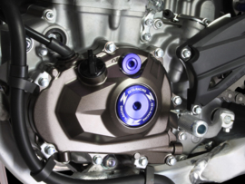 Zeta blok plug set blauw voor de Kawasaki KX 450F 2006-2008