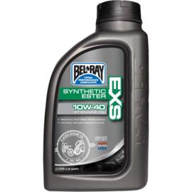 Bel-Ray EXS Synthetische Ester 4 takt motorolie 10W40 1 liter