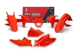 Rtech Plastic Kit Oranje ( met koplamp plastic ) KTM EXC 250/300 2017-2019 & EXC-F 250/350/450/500 2017-2019