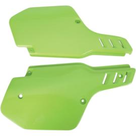 UFO zijpanelen groen voor de KX 125/250 1988-1989 & KX 500 1988-2004