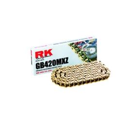 RK ketting GB 420 MXZ 130L goud