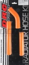 DRC radiator slangen set oranje voor de KTM SX 250 2007-2010