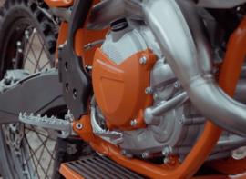 Polisport Koppelingsdeksel bescherming voor de KTM SX/EXC 250/300 2017-2019 & Husqvarna TC/TE 250/300 2017-2019
