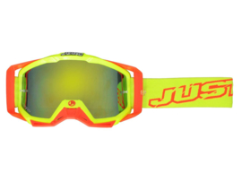 JUST1 Iris Neon crossbril rood/geel
