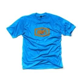 100% T-shirt Essential blauw
