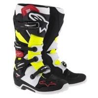 Alpinestars laarzen Tech 7 zwart/rood/geel