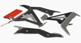 AXP Radiator beschermers voor de Honda CRF 450R/RX 2021 & CRF 400RX 2021