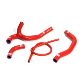 Samco radiator slangen set rood voor de Honda CRF 450R 2005-2008