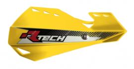 Rtech handkappen Dual + montageset geel type Motocross & Enduro