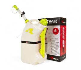 R-tech brandstoftank 15 liter wit/geel