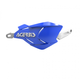 Acerbis handkappen X-Factory wit/blauw