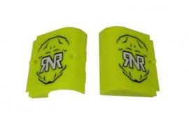 RNR losse kapjes Neon Geel voor RNR WVS 48mm crossbrillen