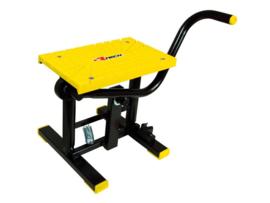 Racetech motorbok lift zwart / geel