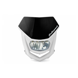 Polisport koplamp Halo Led zwart/wit ECE goedgekeurd