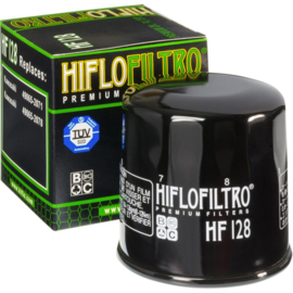 Hiflofiltro oliefilter Kawasaki KAF 300 Mule 500/520/550 1990-2004 & KAF 400 Mule 600/610 2009-2016 & KAF 620 Mule 2500/2510/2520/3000/3010/3020/4010 2009